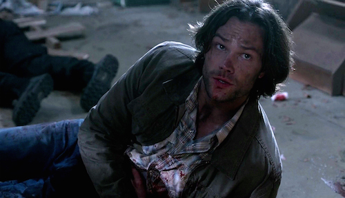 3 Supernatural SPN Season Eleven Episode Seventeen S11E17 Red Meat Sam Winchester Jared Padalecki shot