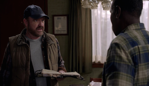 4 Supernatural SPN Season Eleven Episode Sixteen S11E16 Safe House Bobby Singer Rufus Turner Jim Beaver Steven Williams