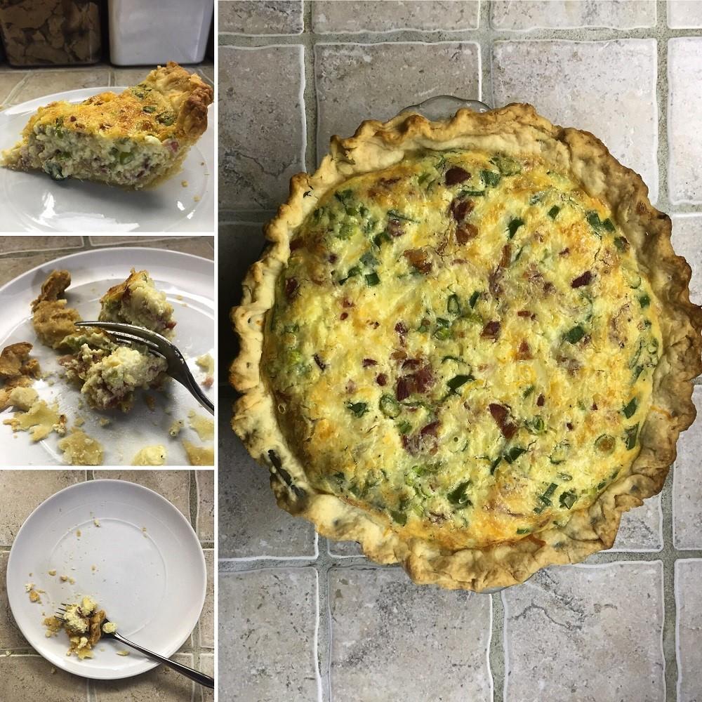 Catastrophe Kitchen – Cheesy Bacon Pie 10