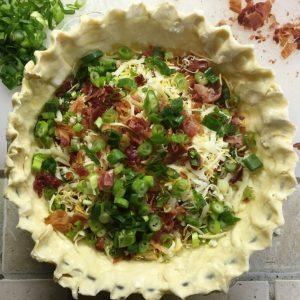 Catastrophe Kitchen - Cheesy Bacon Pie 8