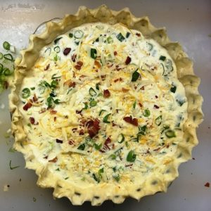 Catastrophe Kitchen - Cheesy Bacon Pie 9