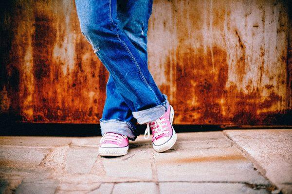 Teenager-feet