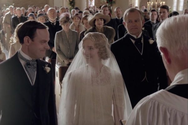 Downton Abbey - Series Finale - Edith Wedding