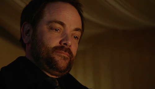 1 Supernatural Season Eleven Episode Eighteen SPN S11E18 Hells Angel Crowley Mark Sheppard