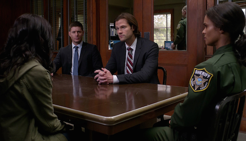 4 Supernatural Season Eleven Episode Nineteen SPN S11E19 The Chitters Sam Dean Winchester Jared Padalecki Jensen Ackles