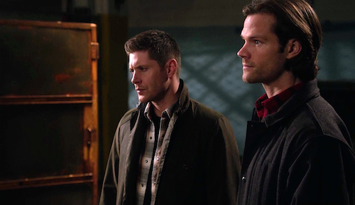 5 Supernatural Season Eleven Episode Eighteen SPN S11E18 Hells Angel Sam Dean Winchester Jared Padalecki Jensen Ackles