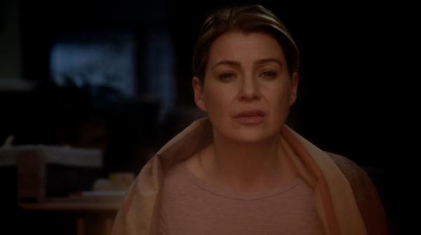 Grey's 12x16 Meredith
