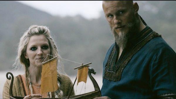 Vikings 4x10 HelgaBjorn