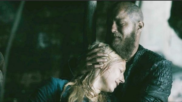 Vikings 4x9 Lagertha-Ragnar