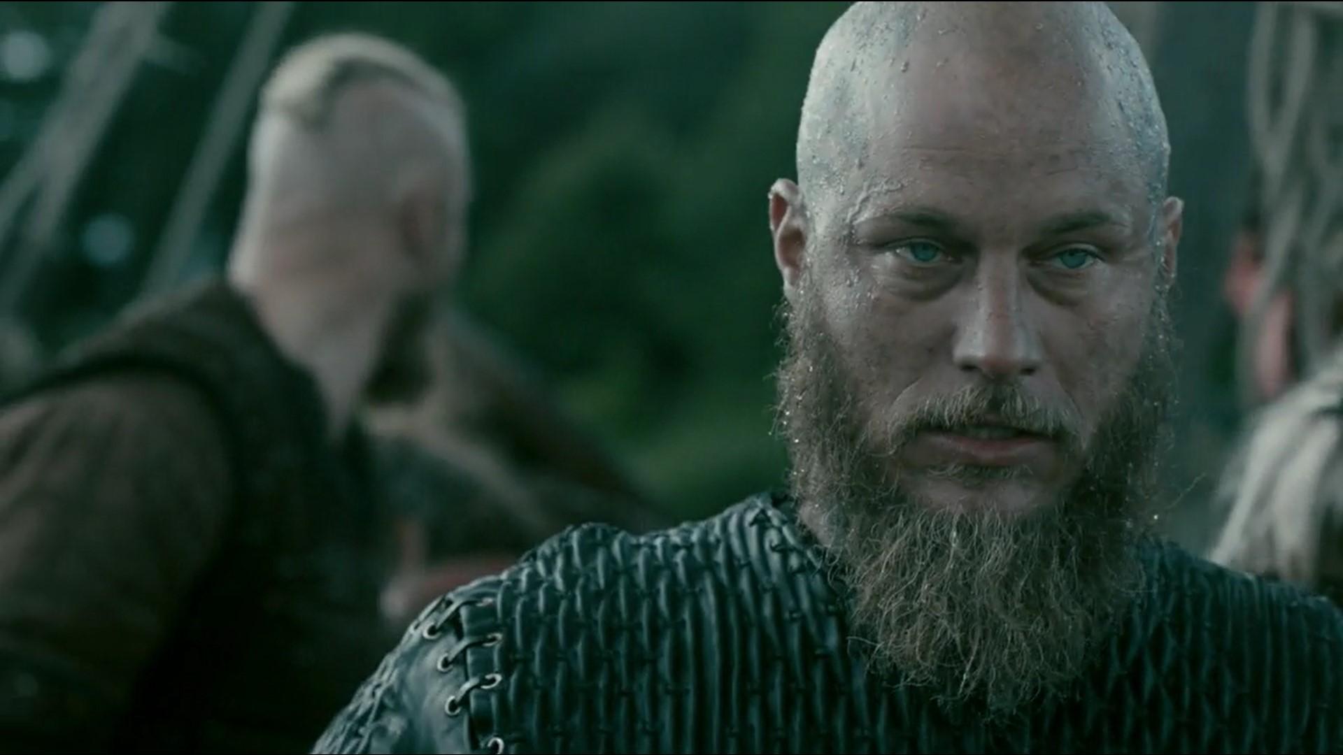 Vikings 47 Ragnar crazy - Black Hairstyle