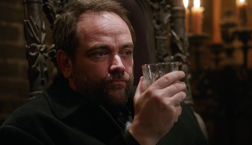 2 Supernatural Season Eleven Episode Twenty Two SPN S11E22 We Happy Few Crowley Mark Sheppard