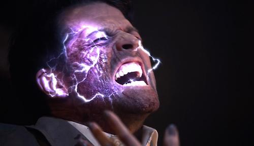3 Supernatural Season Eleven Episode Twenty One SPN S11E21 All in the Family Castiel Lucifer Misha Collins