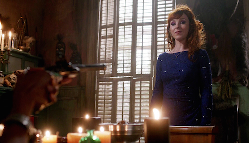 3 Supernatural Season Eleven Episode Twenty Two SPN S11E22 We Happy Few Rowena Ruth Connell