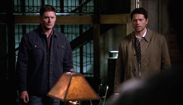 4 Supernatural Season Eleven Episode Twenty Three SPN S11E23 Dean Winchester Jensen Ackles Castiel Misha Collins