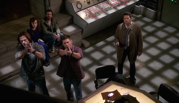 5 Supernatural Season Eleven Episode Twenty Three SPN S11E23 Dream Team
