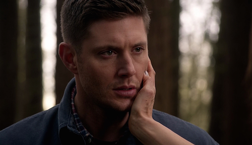 7 Supernatural Season Eleven Episode Twenty One SPN S11E21 All in the Family Dean Winchester Jensen Ackles