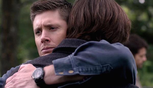 7 Supernatural Season Eleven Episode Twenty Three SPN S11E23 Sam Dean Winchester Jensen Ackles Jared Padalecki hug