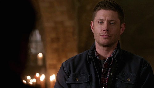 7 Supernatural Season Eleven Episode Twenty Two SPN S11E22 We Happy Few Dean Winchester Jesnen Ackles