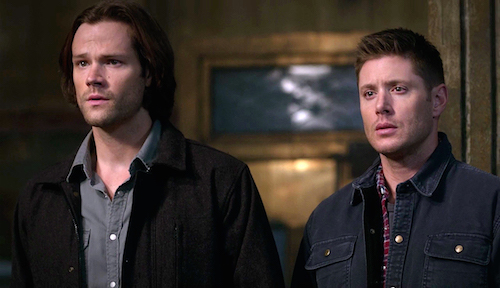 9 Supernatural Season Eleven Episode Twenty Two SPN S11E22 We Happy Few Sam Dean Winchester Jared Padalecki Jensen Ackles