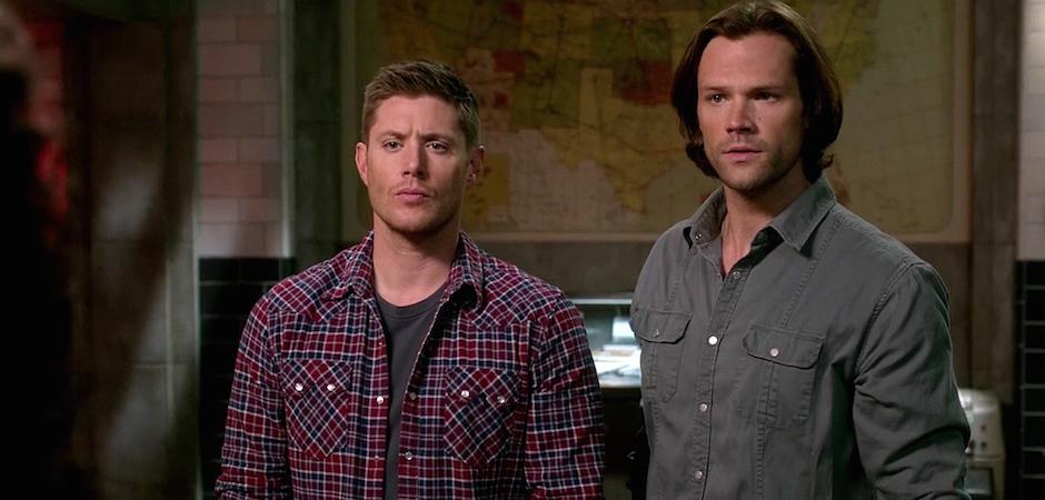 FB Supernatural Season Eleven Episode Twenty Three SPN S11E23 Sam Dean Winchester Jensen Ackles Jared Padalecki