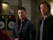 FI Supernatural Season Eleven Episode Twenty Two SPN S11E22 We Happy Few Sam Dean Winchester Jared Padalecki Jensen Ackles