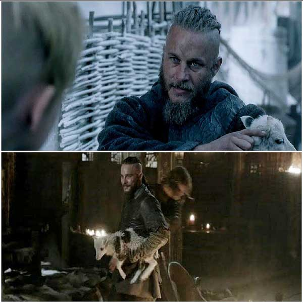 7-Vikings-Season-2-Highlights-Ragnar-therapy-animal