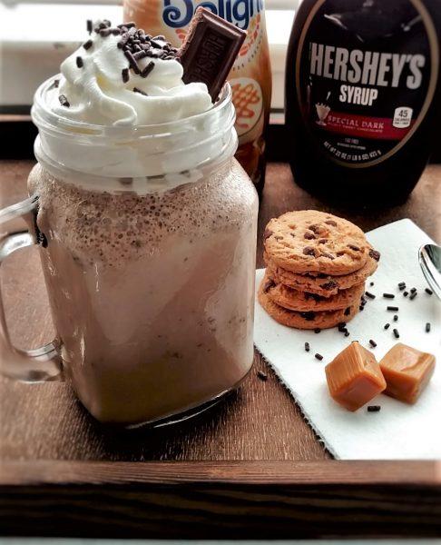 Caramel cookie Frap