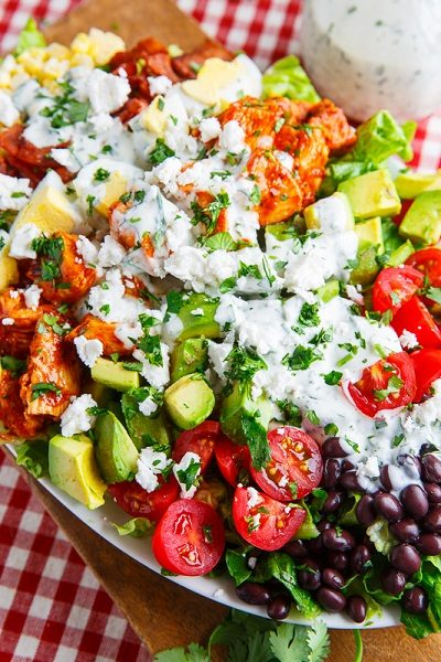 BBQ Chicken COBB Salad with Cilantro Lime Ranch Dressing 800 1981