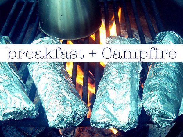 Camping-burrito