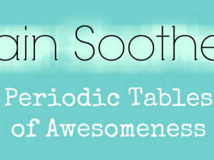 940x450 Brain Soothers - Periodic Table of Awesomeness