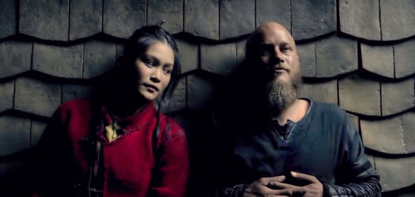 True or False: Ragnar tells Yidu he only wants to go to Paris, so his people will continue to respect him.