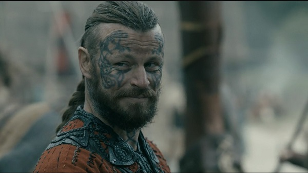 How many boats and men does Harald claim to have?