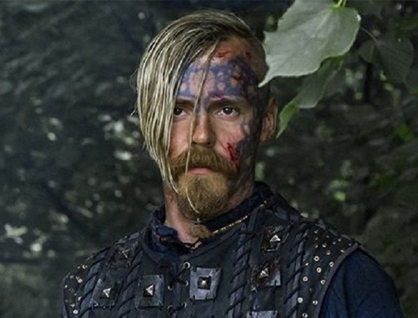 From what country is the actor Jasper Paakkonen, who plays Halfdan the Black? (No typos there. That's really his last name.)