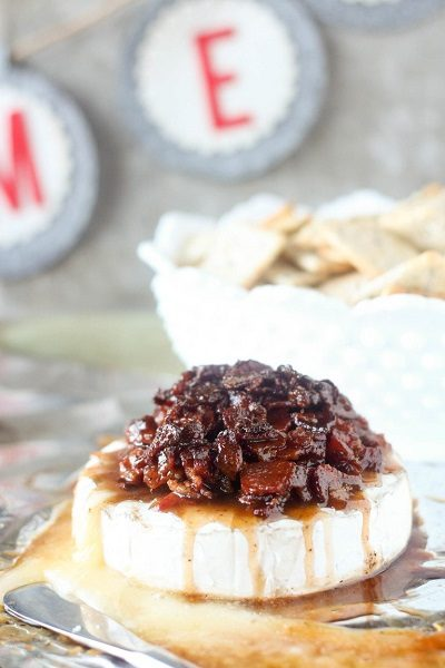 Candied Bacon Brie