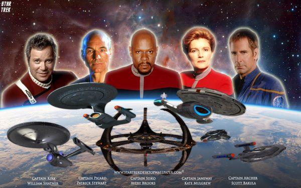 Photo 1. S&C Star Trek 50th