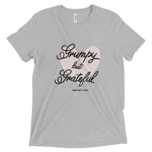 Grumpy but Grateful Short sleeve t-shirt