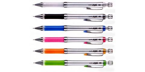 uni-ball-alpha-gel-slim-body-pencils