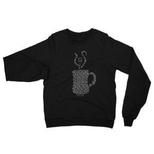Mandala Mug Raglan sweater