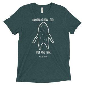 Anxiety Blob Short sleeve t-shirt