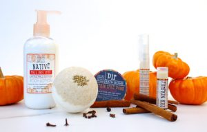 Pumpkin Spice Holiday Beauty Gift Set