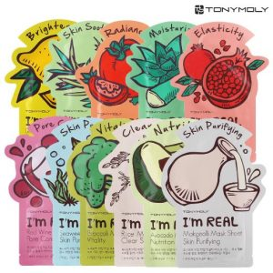 """I'm Real"" Sheet Masks by Tony Moly"