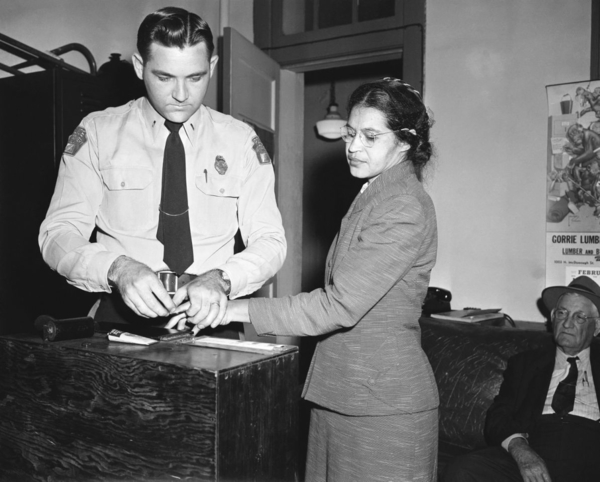 Photo 2. Rosa Parks booking