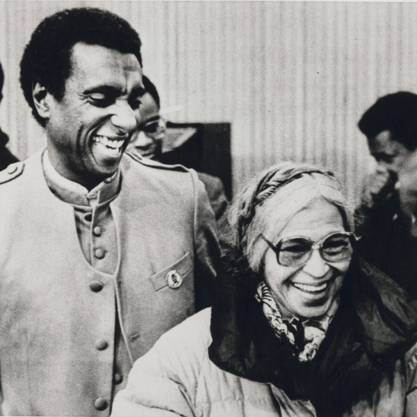 Photo 4. S&C Rosa Parks and Stokely Carmichael