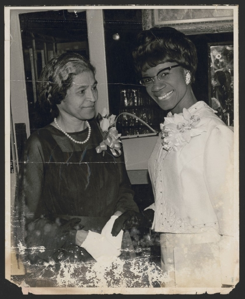 Photo 5. S&C Rosa Parks and Shirley Chisholm