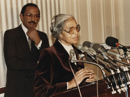Photo 6. S&C Rosa Parks & John Conyers
