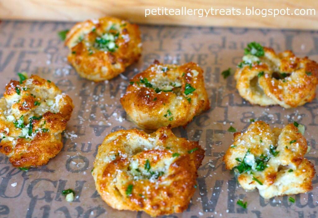 8. Gluten Free Montasio Garlic Knot Rolls by Petite Allergy Treats