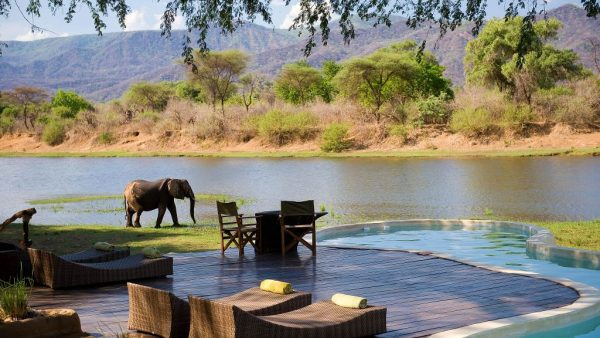 head to zambia to this quirky boutique safari resort to enjoy the chongwe river house pool its tucked in along the banks of the chongwe river