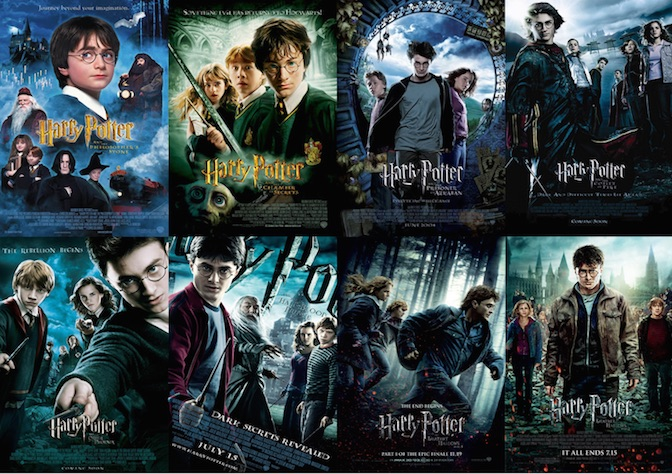 2 – Harry Potter
