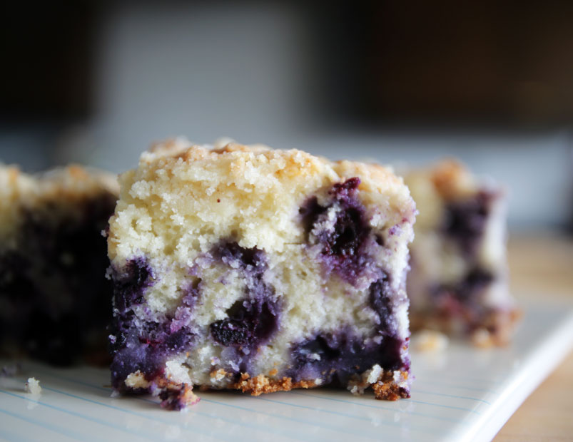 Blueberry Buckle from Alton Brown