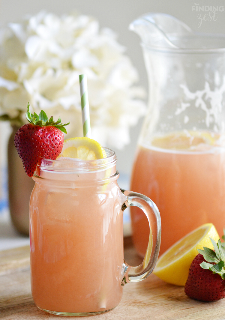 Photo 3 – Homemade-Strawberry-Rhubarb-Lemonade-Recipe